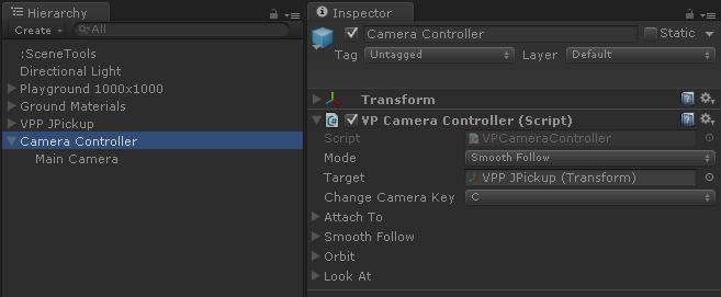 Camera Controller - Vehicle Physics Pro