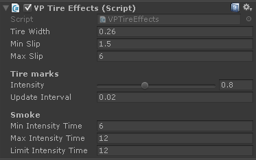 VP Tire Effects