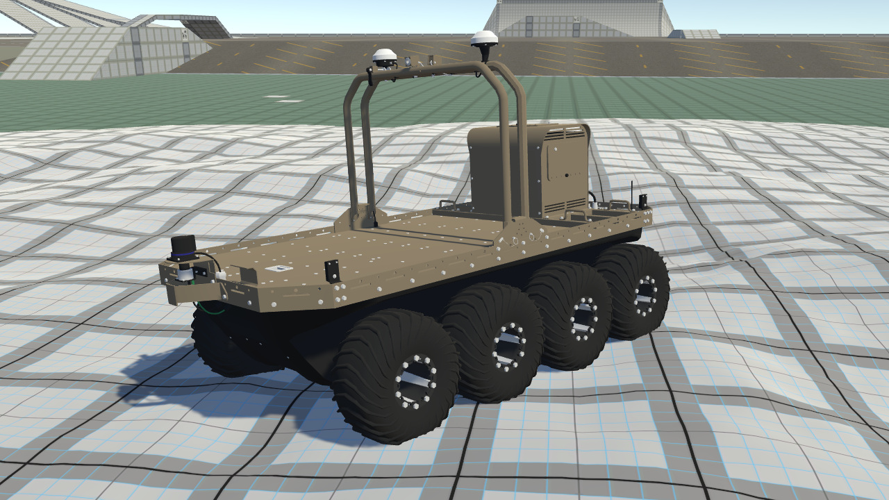 Argo J8 amphibious robotic vehicle