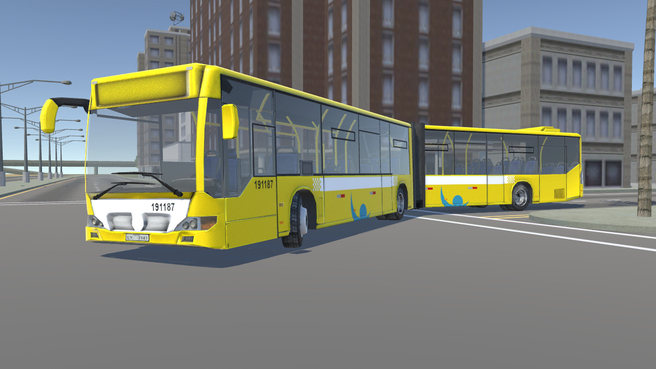 Mercedes-Benz Citaro Euro-VI articulated
