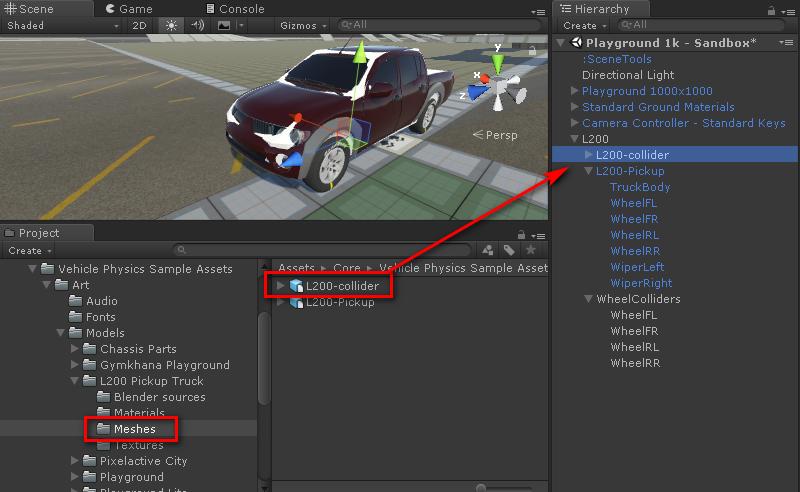 Creating vehicles - Vehicle Physics Pro